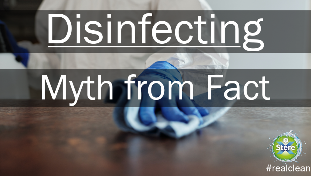 Disinfecting Myths and Facts